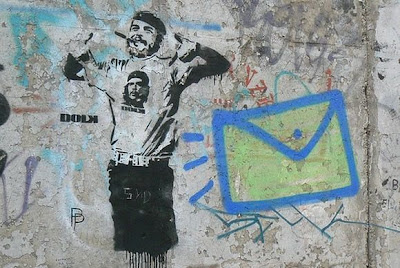 Креативное прикольное граффити