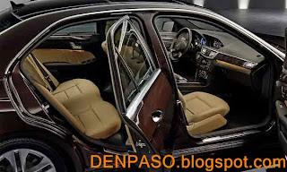 Креативное фото и видео автомобиля Мерседес Е класса