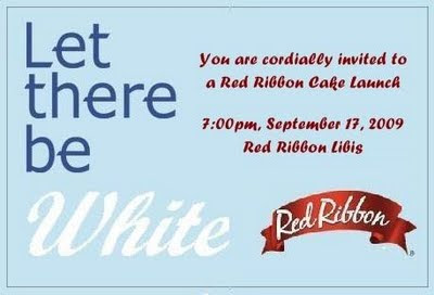 Let there Be White Red Ribbon