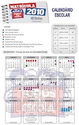 Calendário Escolar 2010