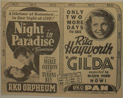Night in Paradise movie