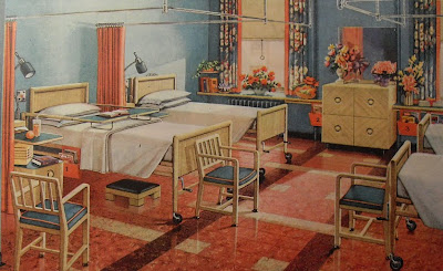 1940S Interior Design Mesmerizing Art Skool Damage  Christian Montone Designs For Living Gracious Design Decoration