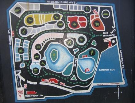 Zoo Map Template Copy of Manila Zoo 39 s Map