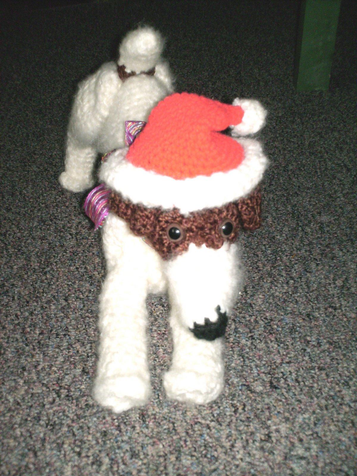 Santas Hat TP Topper Pattern Crochet Pattern Santas Hat TP Topper