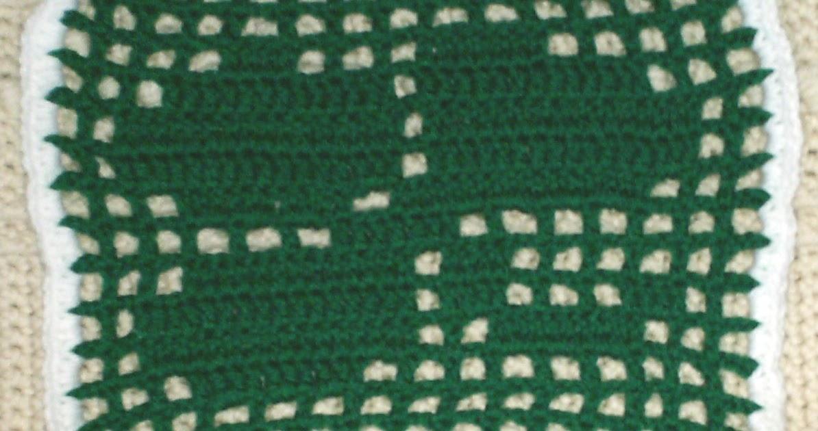 Free Crochet Shamrock Doily Pattern : Amazing Greys Crochet: Free Shamrock Doily Crochet Pattern