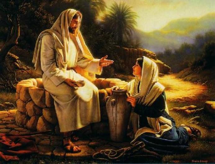 Gesu...e la Samaritana...