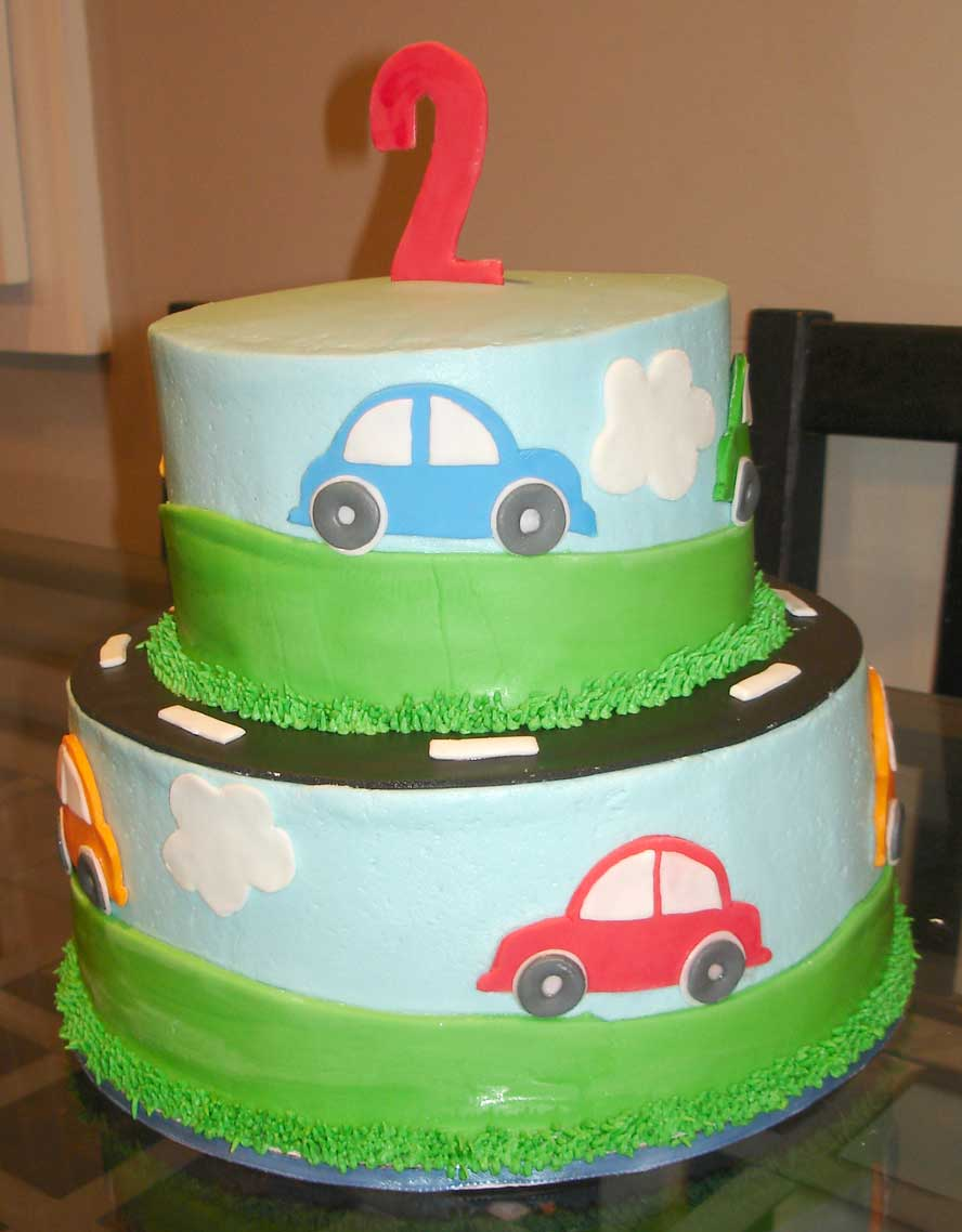 Cake Designs With Cars : Serendipity Cake Design: Cars cake