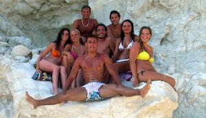Sicilia con gli amici .