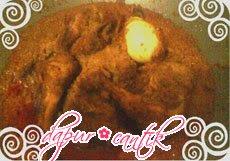 rendang ayam dapur cantik