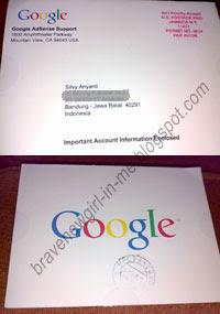 Akhirnya Surat Cinta dari Google Datang Juga