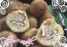 kroket kentang isi mie kornet dapur cantik
