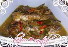 Gambar Masakan Tauco Ikan Alu-Alu Dapur Cantik