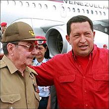 Raul Castro e Hugo Chávez