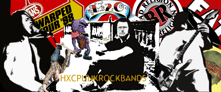 HXC PUNK-ROCK BANDS