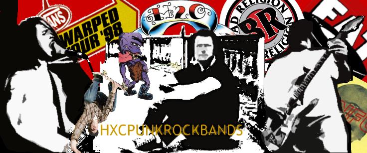 HXC PUNK-ROCK BANDS
