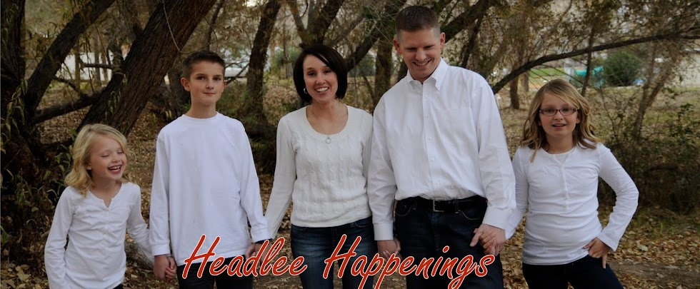 Headlee Happenings