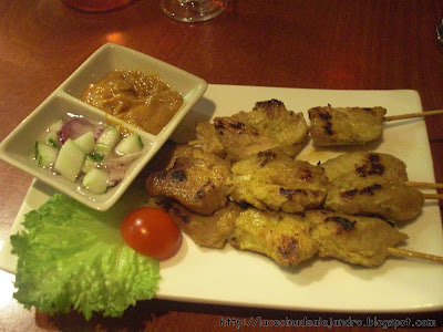Chicken Satay...Satay De Pollo