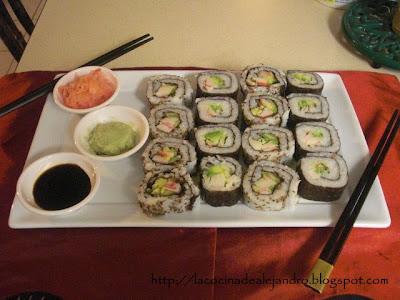 California Rolls...Sushi Rolls