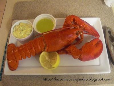 Como Cocinar Langosta...Lobster