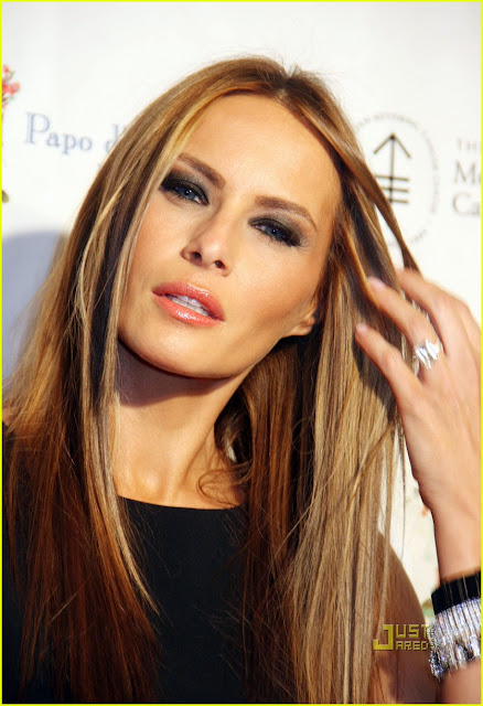 Gallery For > Melania Trump Hairstyle