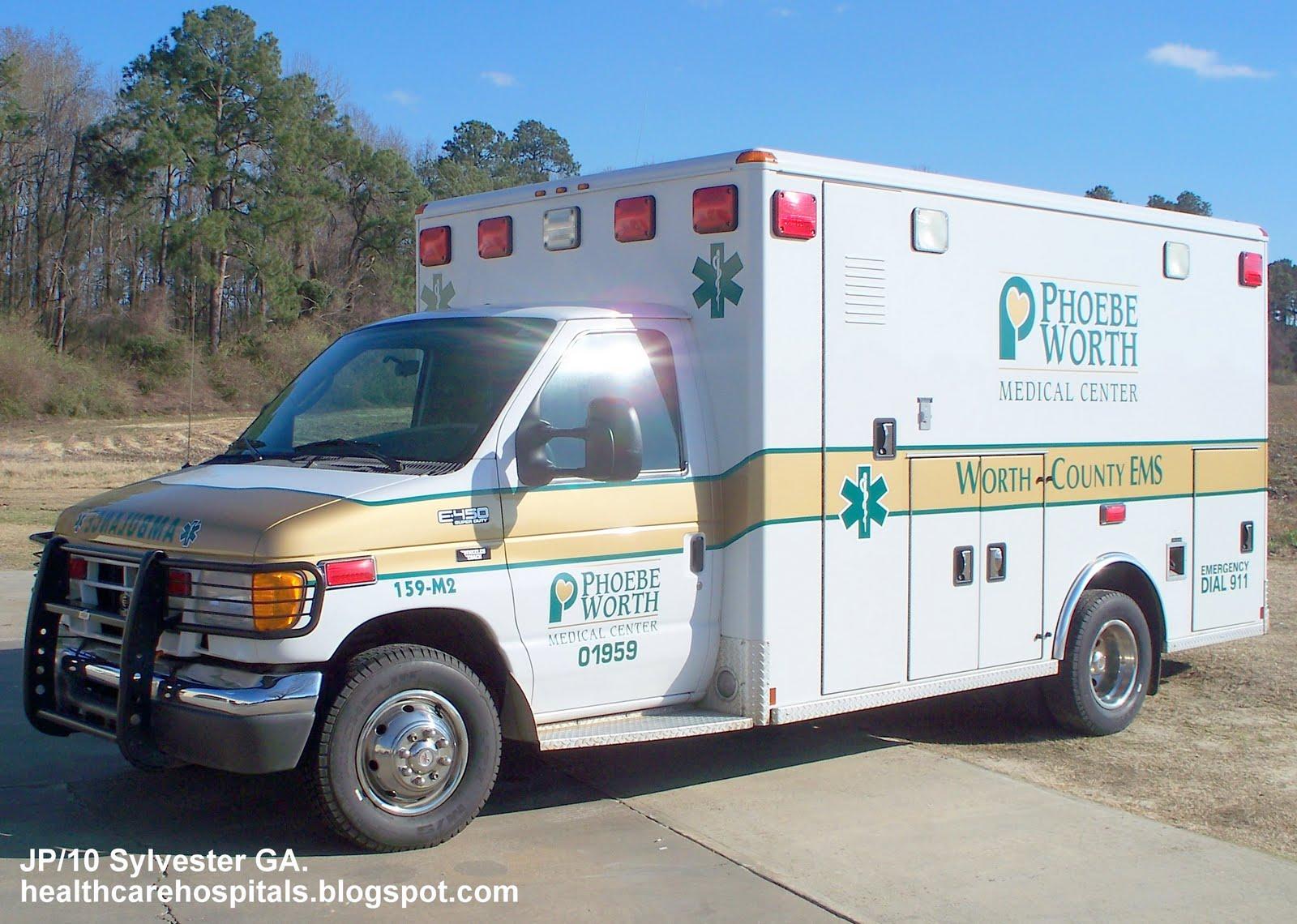 phoebe worth medical center hospital ems ambulance emergency phoebe worth medical center hospital ems ambulance emergency medical services sylvester worth county ga
