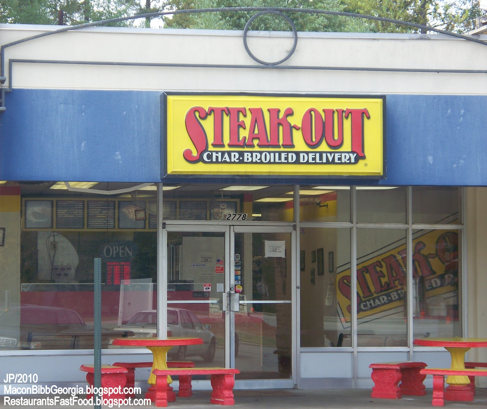 View the menu for Steak-Out Charbroiled Delivery and restaurants in Macon, GA. See restaurant menus, reviews, hours, photos, maps and directions.5/5(1).