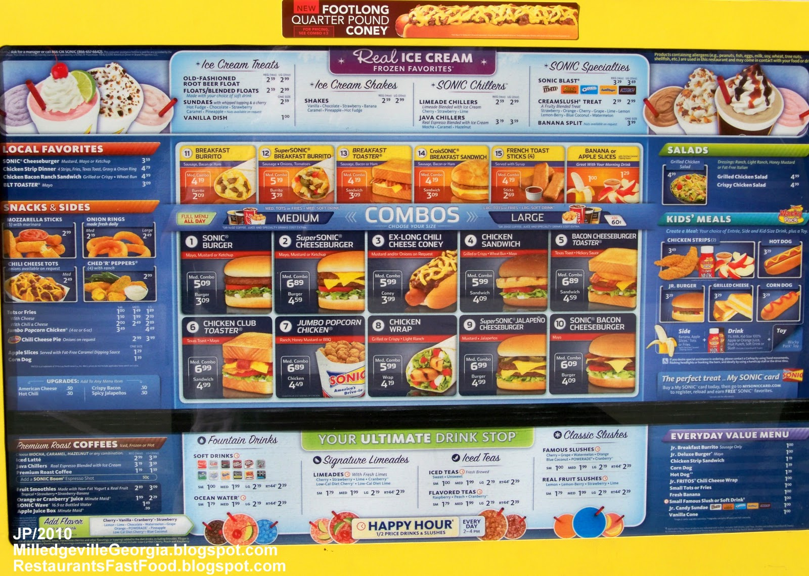 sonic drive in Search sonic drive-in locations to find a restaurant near you experience our made-to-order american classics, signature menu items, and speedy service from our.