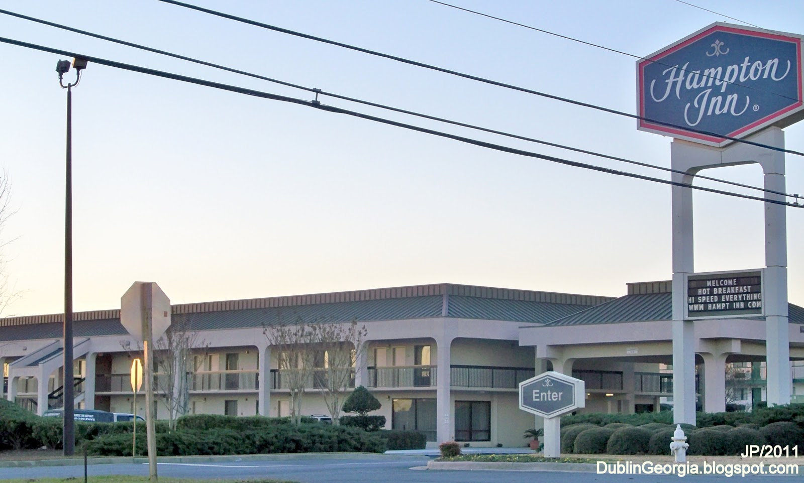 Hampton Inn Hotel Dublin Georgia Lodging Laurens County Ga