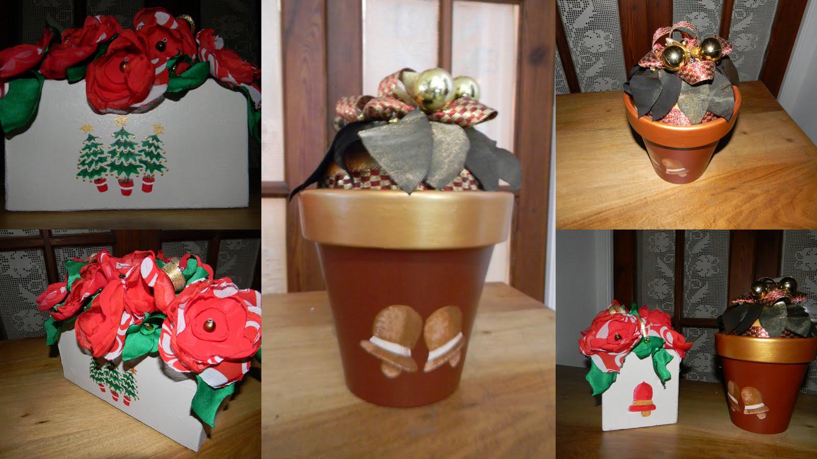 Macetas con estilo noviembre 2010 - Mesas de navidad decoradas sencillas ...