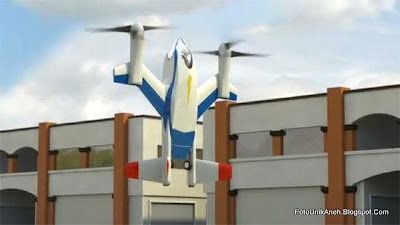 Dapat Lepas Landas Dan Mendarat Secara Vertikal