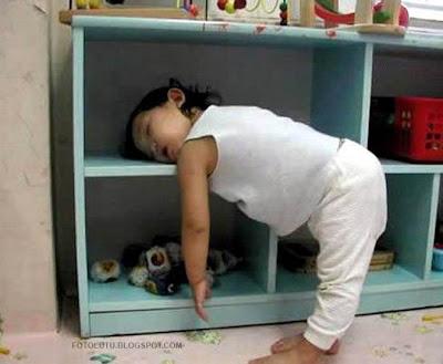 Anak Tidur Di Mana Aja Kayak Dihipnotis