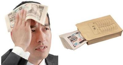 Foto lucu handuk mirip duit