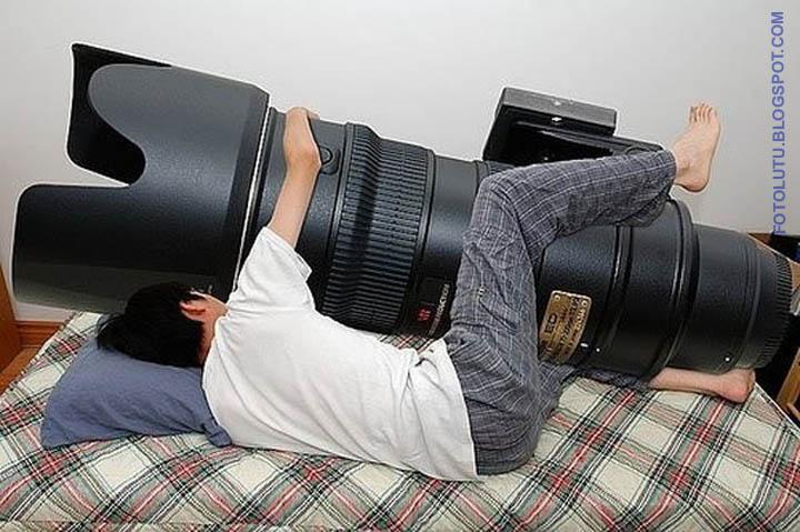 Hubungan Ranjang Antara Fotografer Dengan Lensanya