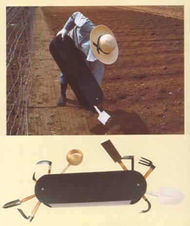 Alat Pertanian Yang Bisa Dilipat