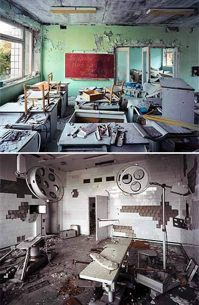 Sekolah Dan Rumah Sakit Di Kota Hantu