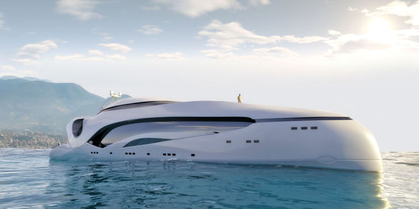Kapal Pesiar Super Mewah, Mirip Pesawat Luar Angkasa