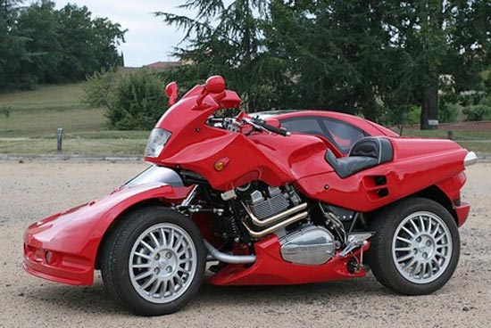 Kendaraan Unik Berkonsep Becak Motor Medan