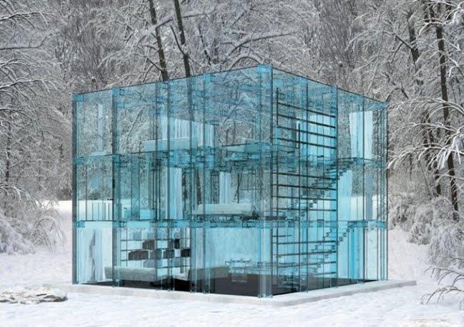 Rumah Unik Dari Kaca