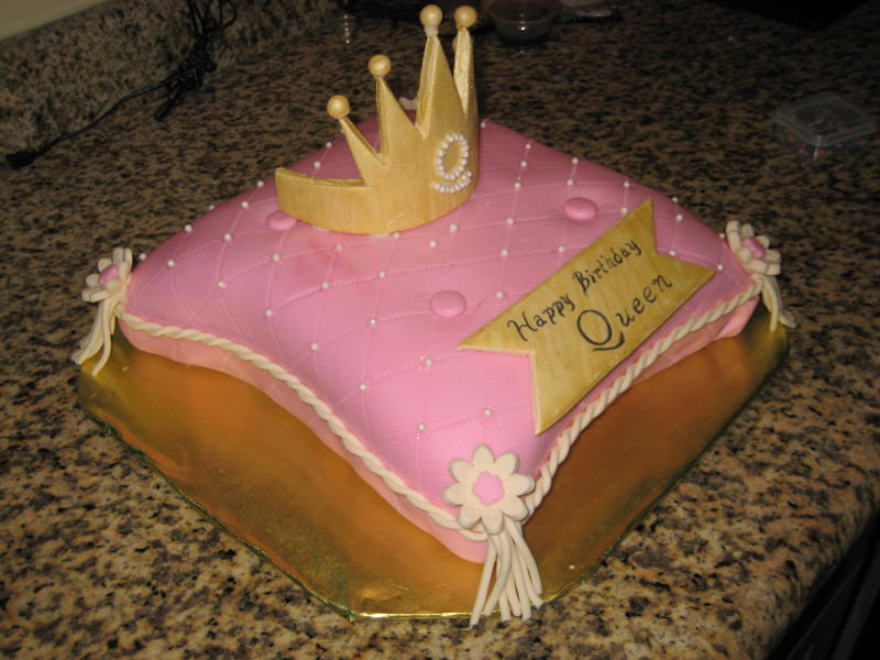 Birthday Cake by Flourgirl Cakes and Cupcakes O M G Queen of Cuisine