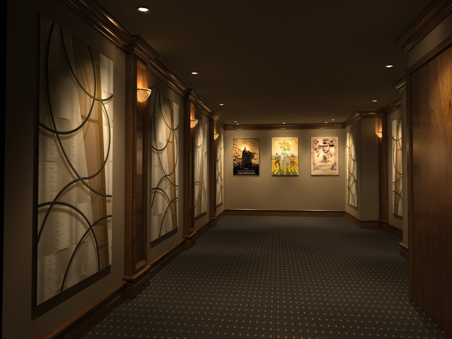 Home Theater Design And Beyond By 3 D Squared Inc Custom Decorative Acoustic Panels