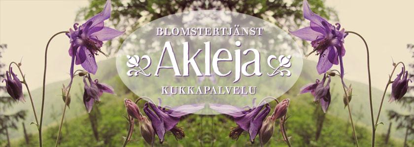 Blomstertjänst Akleja – Kukkapalvelu Akleja