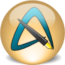 AbiWord 2.6.8 logo/screenshot