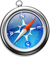 Apple Safari 4.02 logo/screenshot