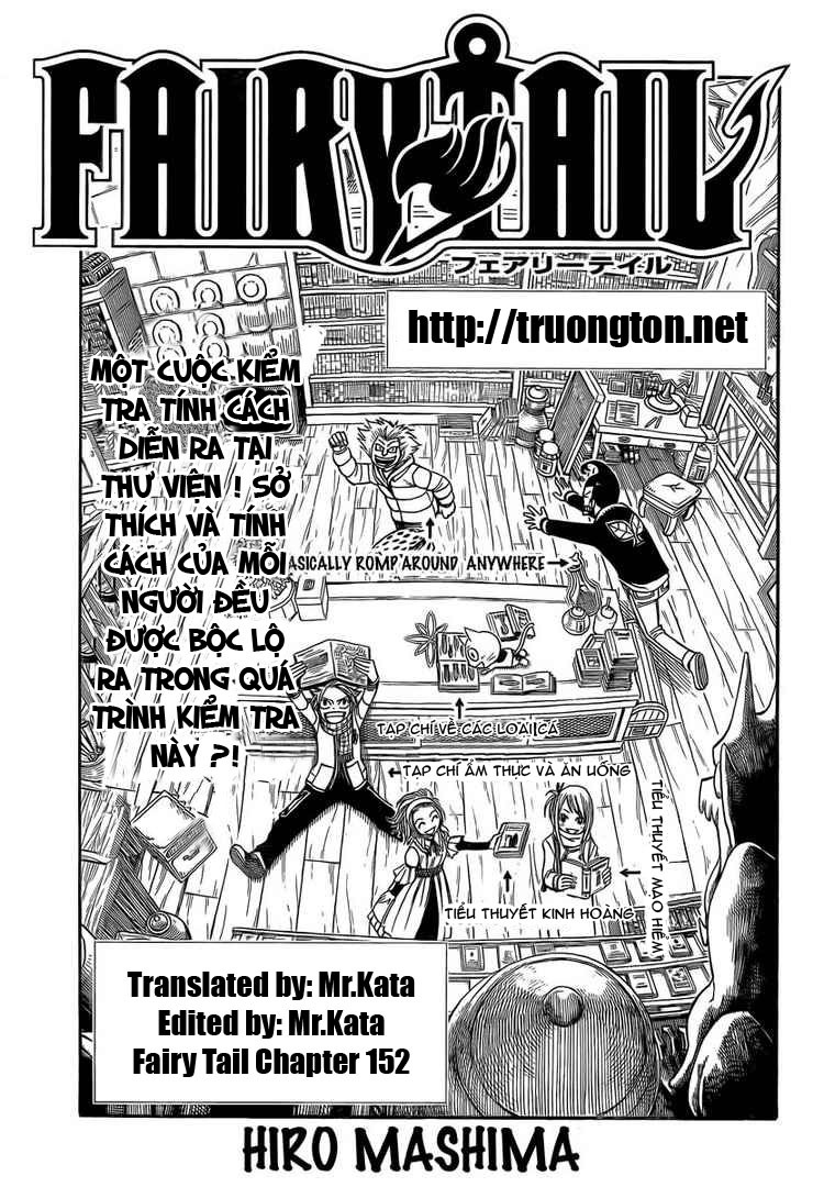 TruyenHay.Com - Ảnh 1 - Fairy Tail Chap 152