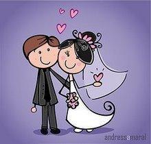 Que fofos,mas a noiva tinha que ser loira como eu e o noivo ter menos cabelo como o Alessandro,rsrs