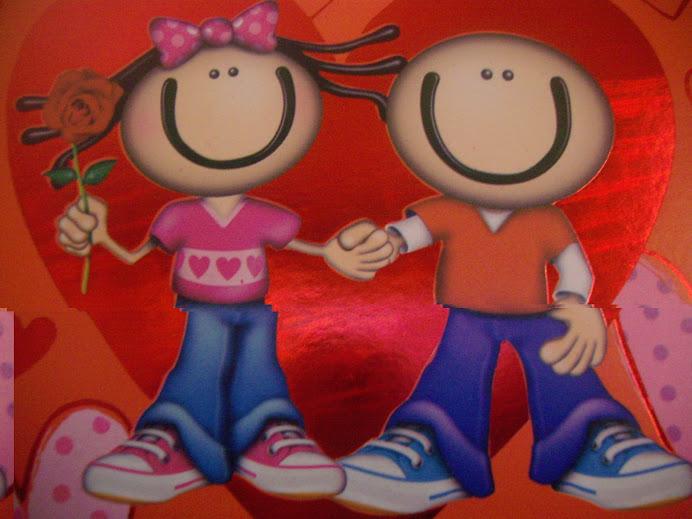 Eu e o meu amor ( é o meu caderninho de anotalção das coisas do casamento)