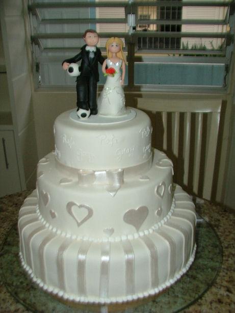 Mais um bolo branco