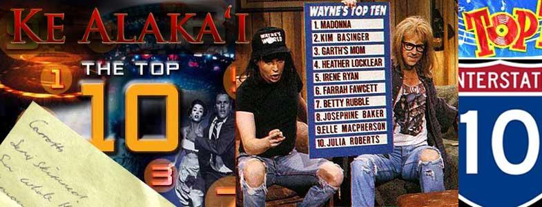 Ke Alaka'i Top 10