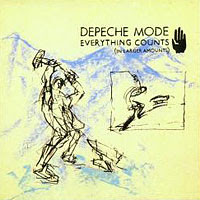 Depeche Mode - Everything Counts single cover