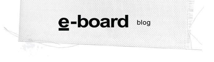e-board's blog